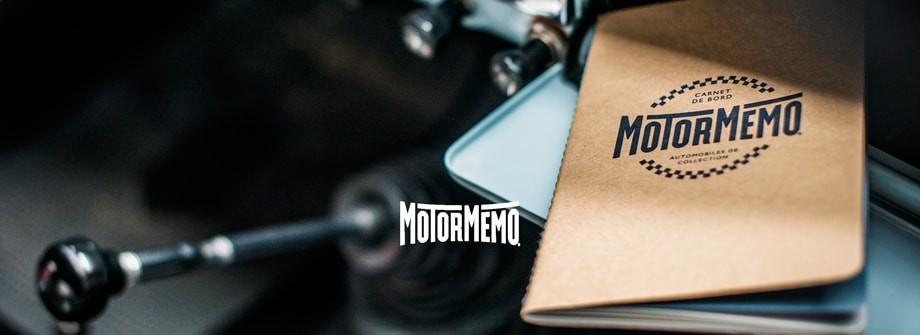 Logbook Motormemo for classic cars