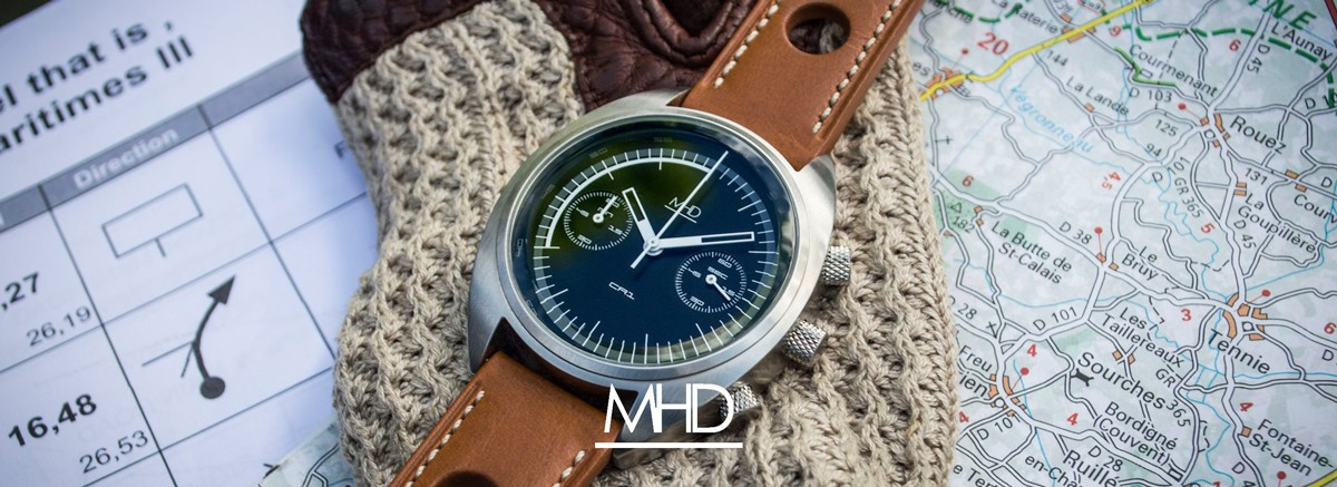 Modern and timeless watches designed by the former Morgan Motor Company designer, Matthiew Humphries.