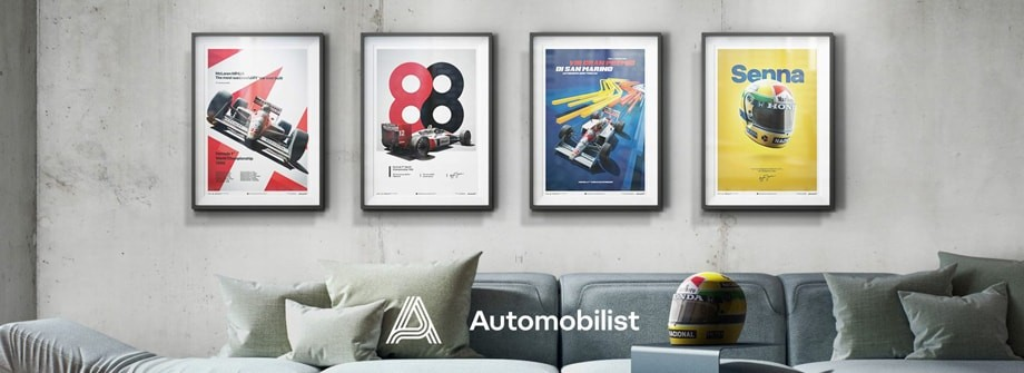 Affiches et posters Automobilist by Unique & Limited